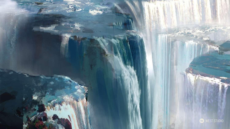 Environment Concepts, Location Design, Fantasy, Theme Park Attraction