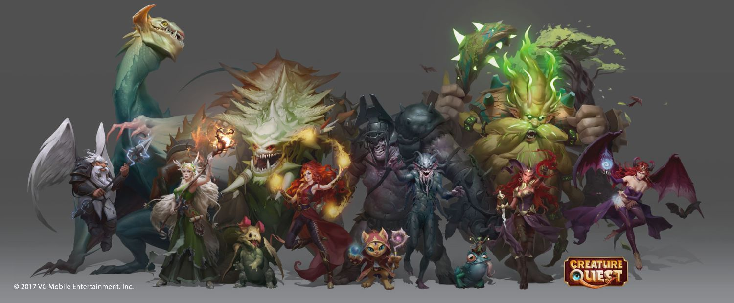 Creature Design, Character Concepts, Background Paintings, Maps, Icons, Marketing Illustrations, Mobile Game Art