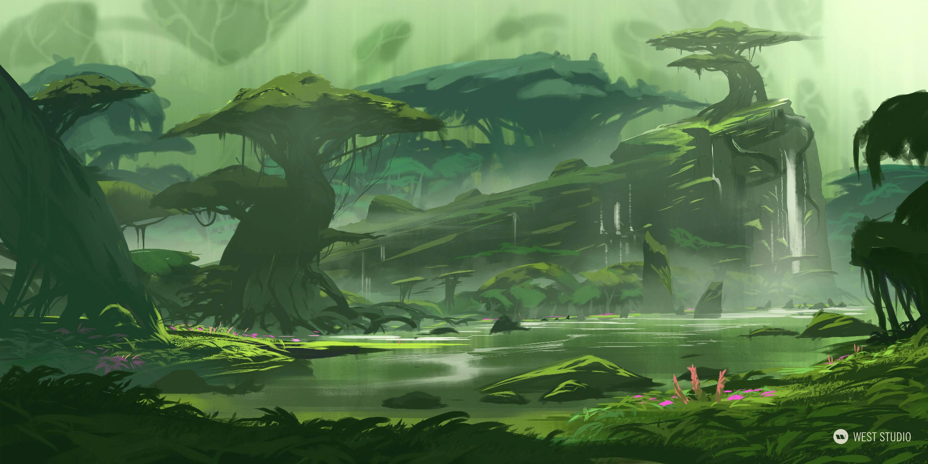 Environment Concept, World Building, Flora and Fauna Design