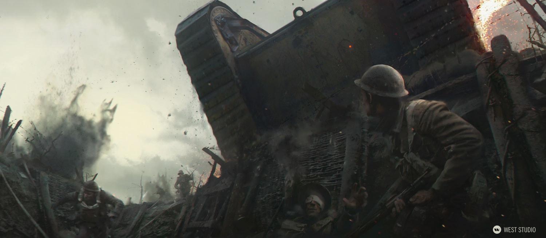 WWI, Cambria, realisitc, period piece, trench, warfare