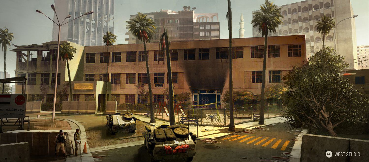 Call of Duty, Modern Warfare, FPS, Concept Art, Environnmet Concept