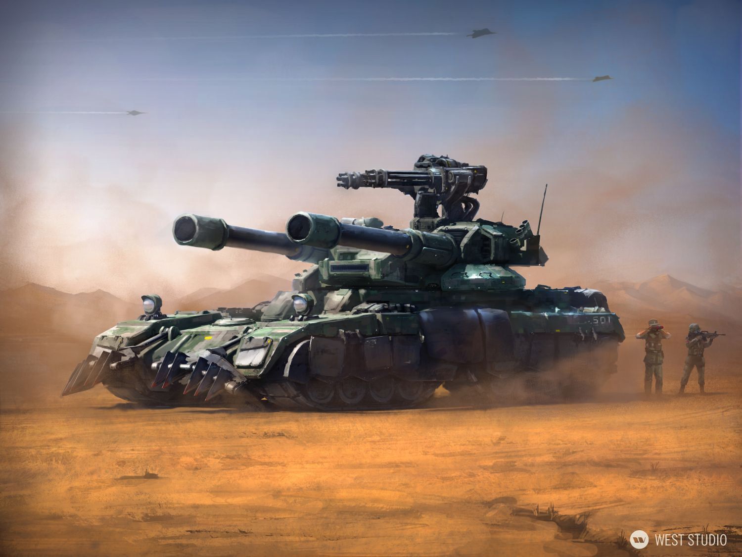 Military, Vehicles, Tanks, Vehicle Design, Concept Art, Command and Conquer, Key Art