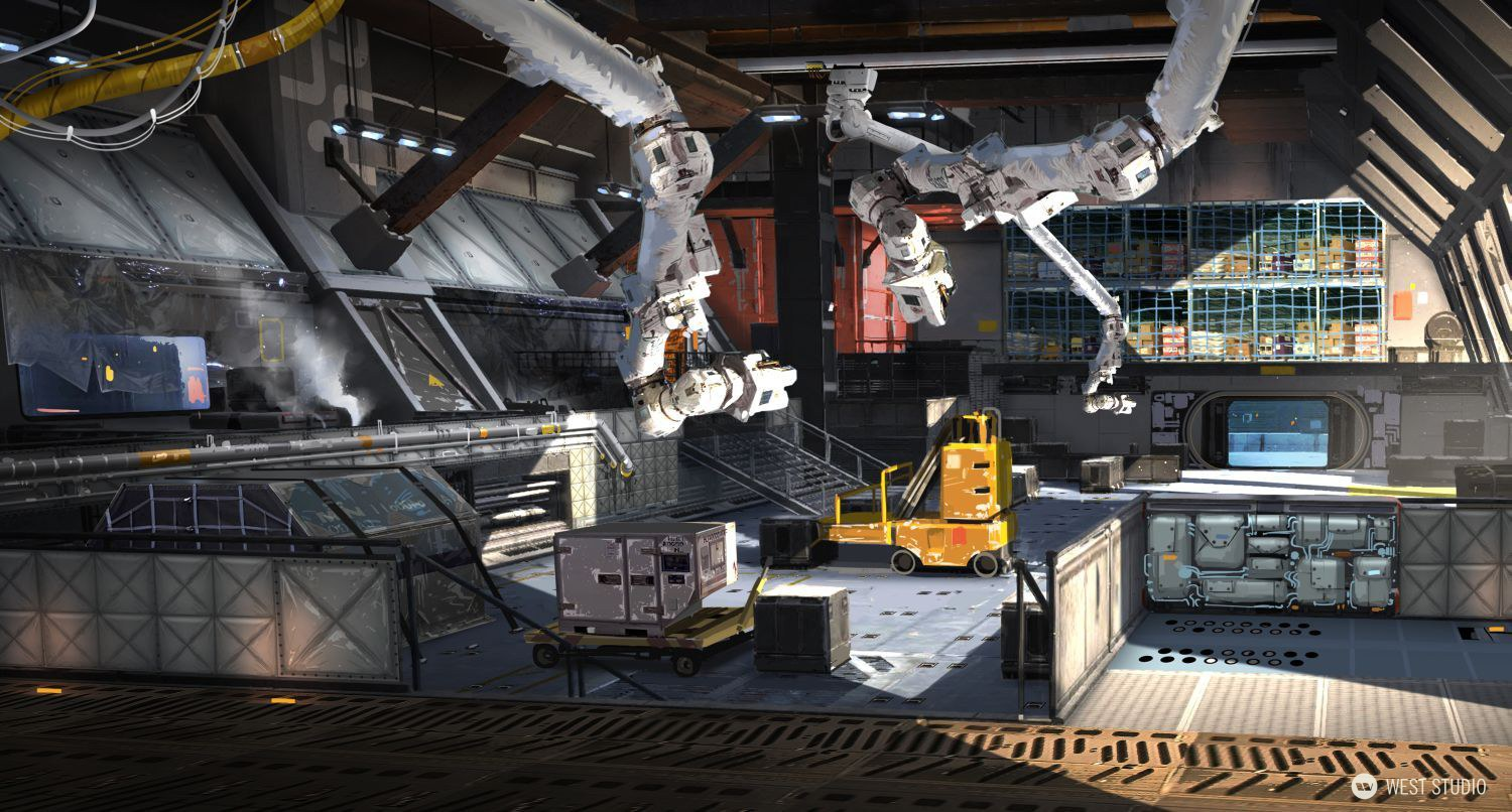 Fuse, Insomniac Games, Concept Art, Environment Concepts, Sci-fi, Science Fiction, Game Development