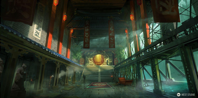Double Helix Games, Amazon Games, Environment Concepts, Key Art