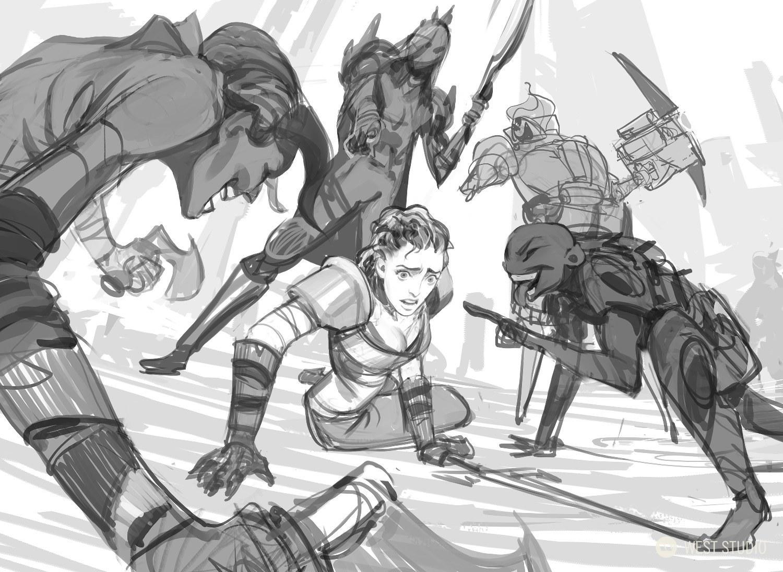 Riot Games, Tilt, Key Art, Storyboards, Character Design, West Studio, Visual Development, Narrative Design, TV, Commercial