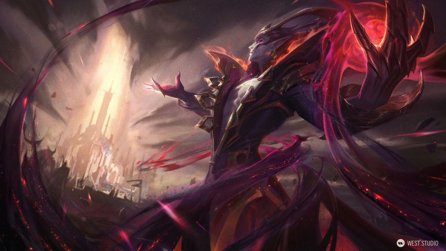 Riot Games, League of Legends, Splash Art, Key Art, Marketing, Illustration, Character Design