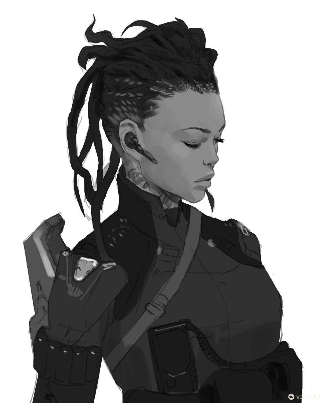 concept art, visual development, character design, game development, science fiction, sci-fi