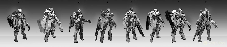 concept art, visual development, character design, creature design, game development, science fiction, sci-fi, stylized