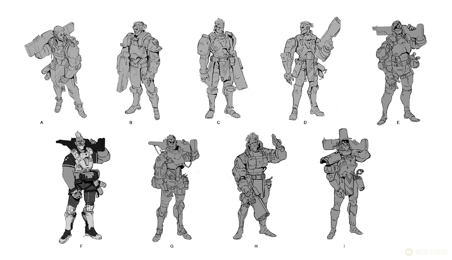 concept art, visual development, character design, game development, science fiction, sci-fi, realistic
