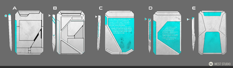 concept art, visual development, props, game development, science fiction, sci-fi, realistic