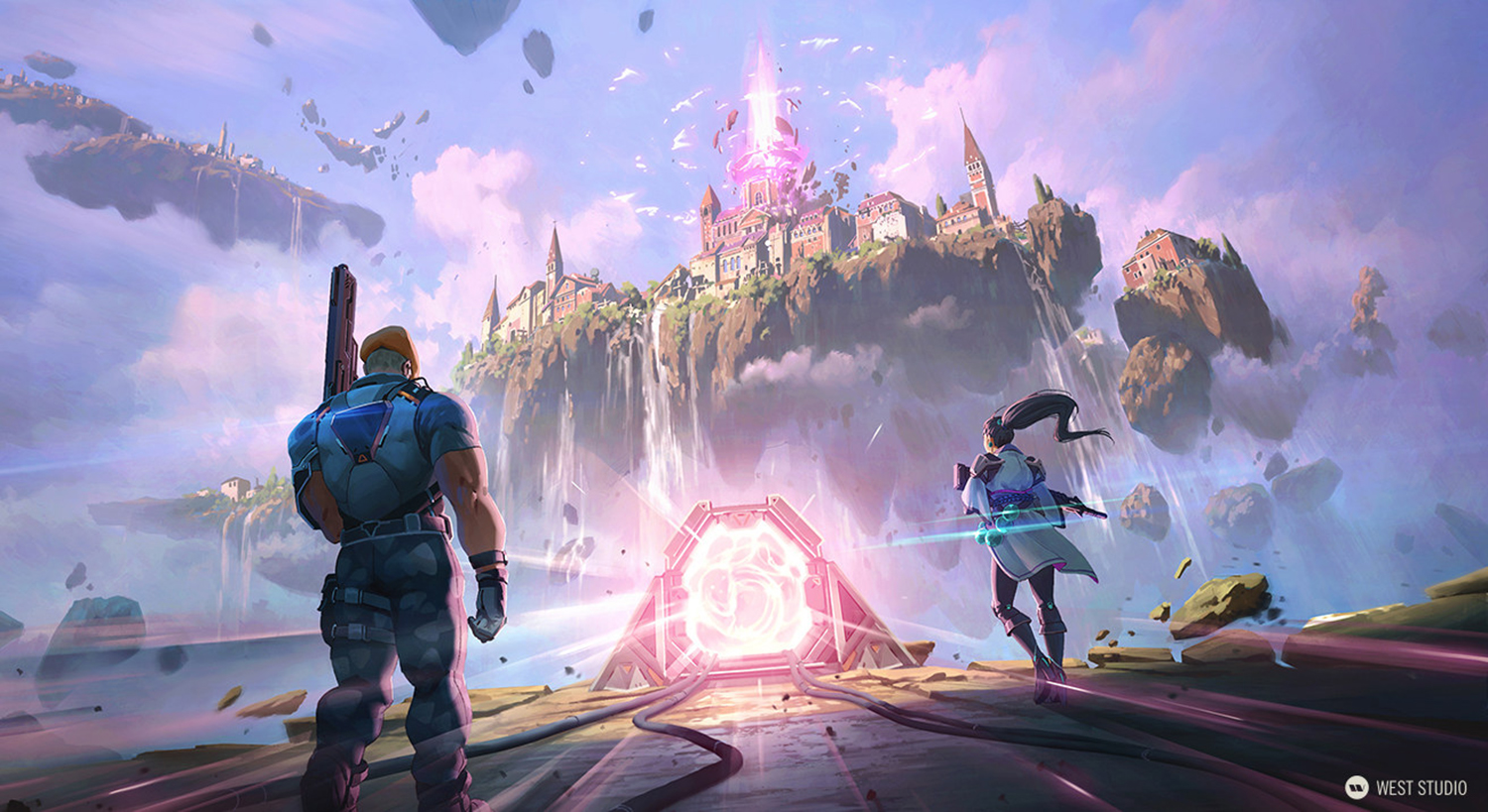 Riot Games, Valorant, Concept Art, Environment Concepts, Maps, Levels, Gave Development, Layout, Visual Development, Games, Key Art, Loading Screen