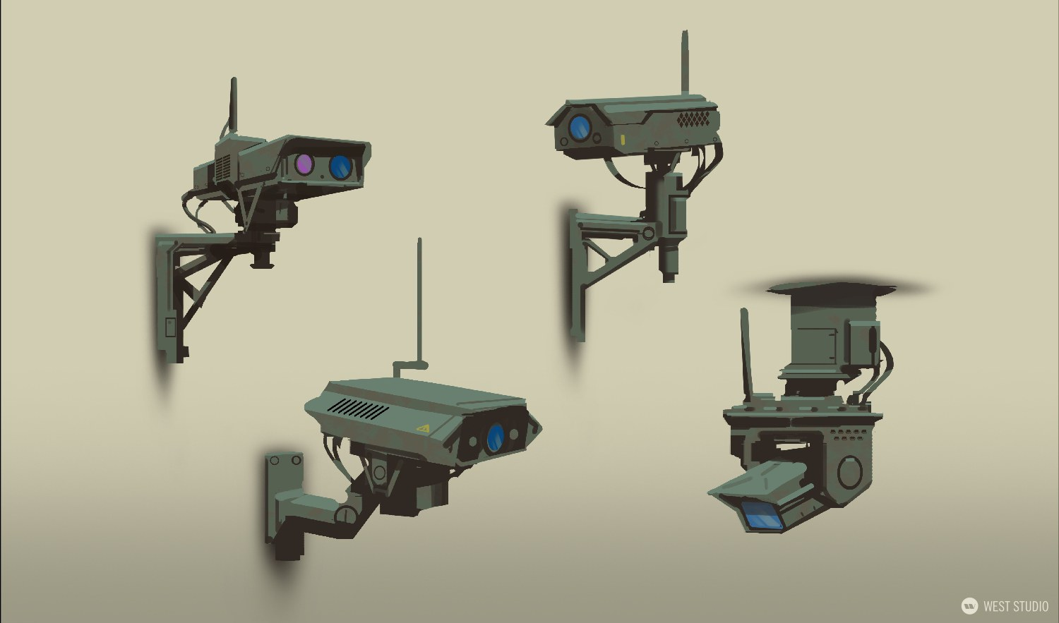 Riot Games, Valorant, Concept Art, Props, Game Development, Layout, Visual Development, Games