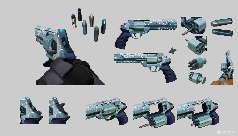 Riot Games, Valorant, Concept Art, Weapon Design, Game Development, Visual Development, Games