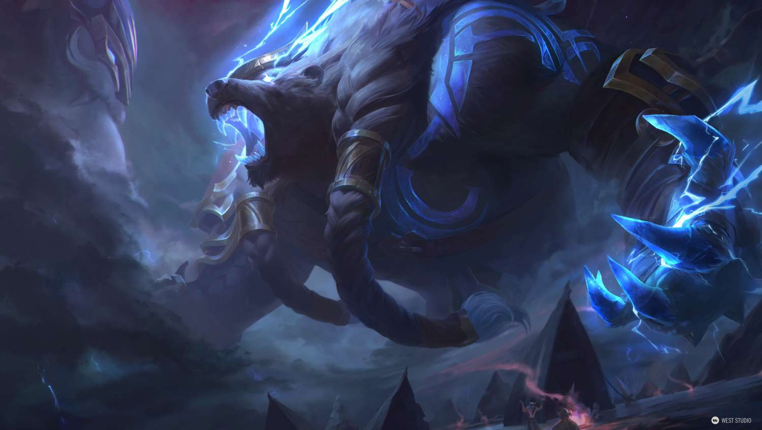 League of Legends, Riot Games, LOL, Splash, Illustration, West Studio, Mingchen Shen, Skins, Rendering,