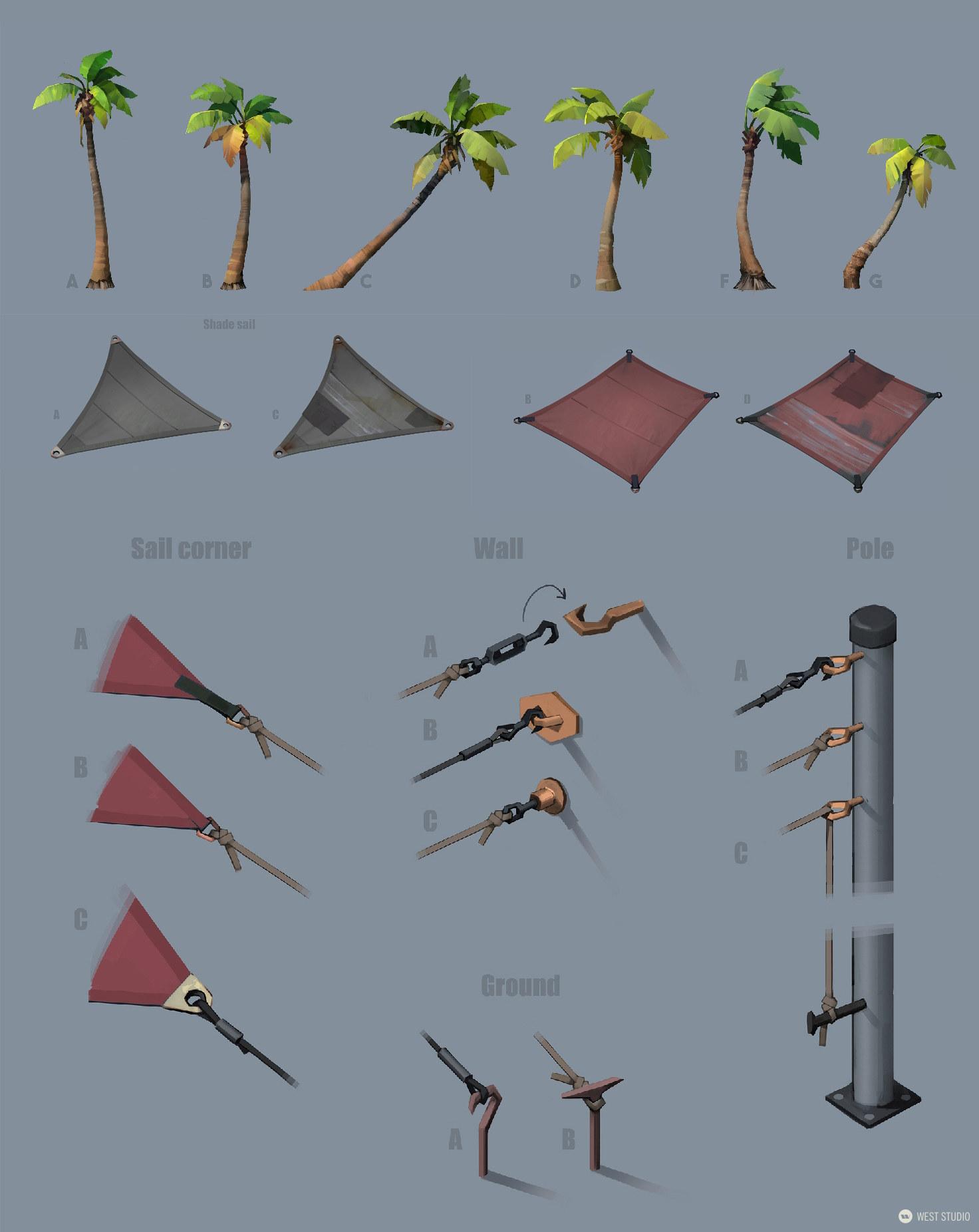 Riot Games, Riot, Valorant, Illustration, Game Development, In Game Art, West Studio, Digital Art, Map Development, Props