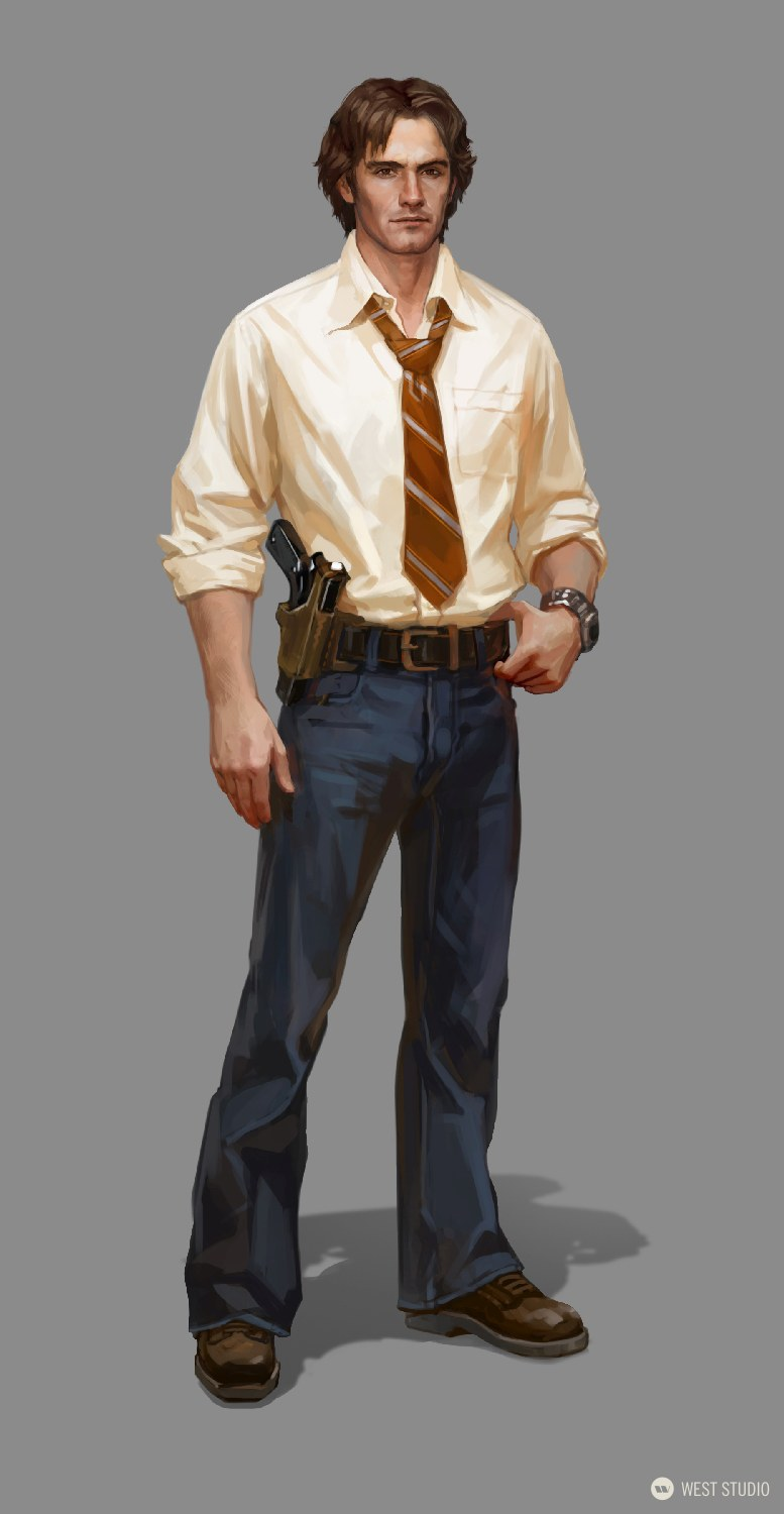 Big Red Button, West Studio. Character Concepts, Concept Art, Costume Design