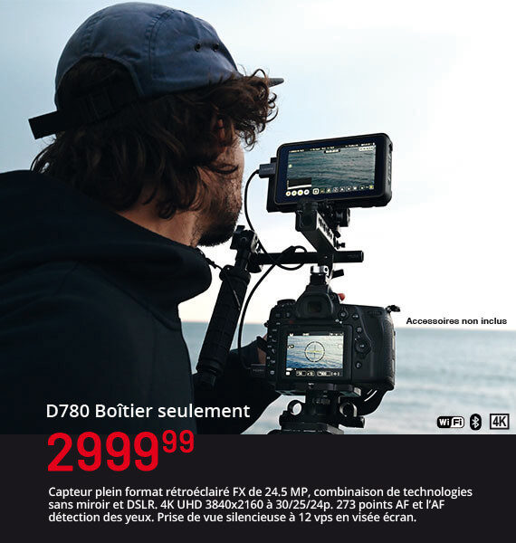 Nikon D780 Boîtier