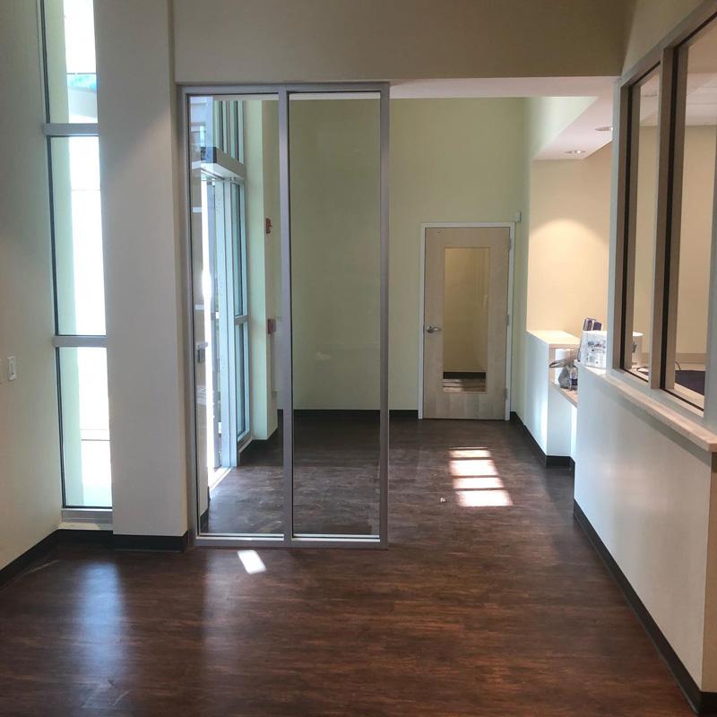Commercial space restoration