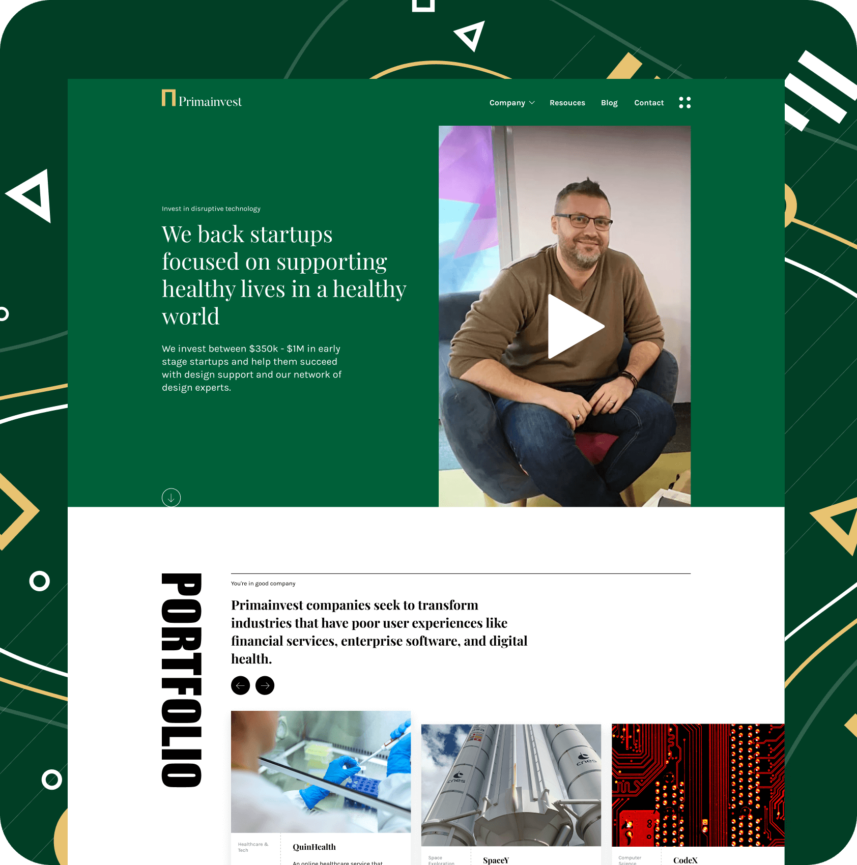 Primainvest website finance, business angel, Romania