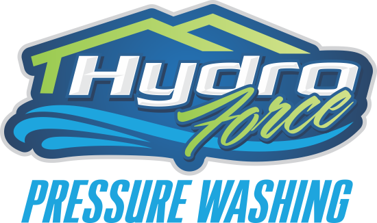 hydro force pressure washing logo