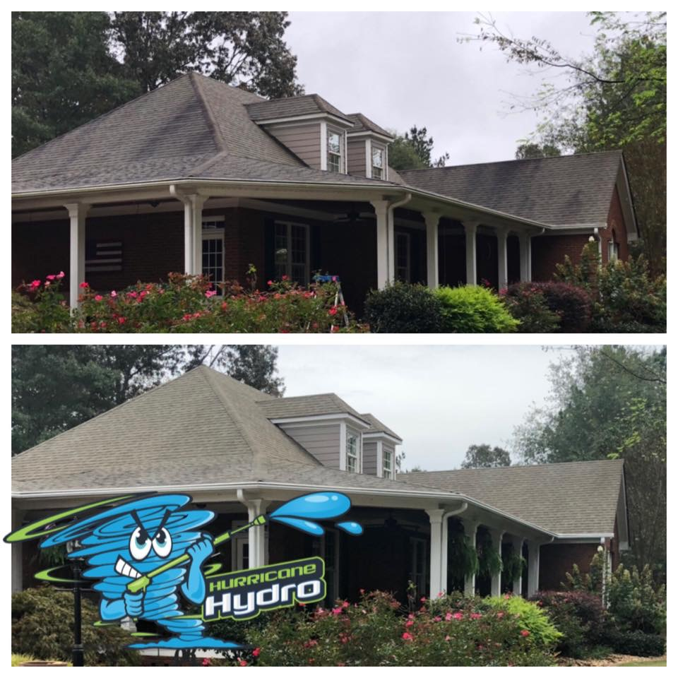 roof cleaning in cartersville, ga