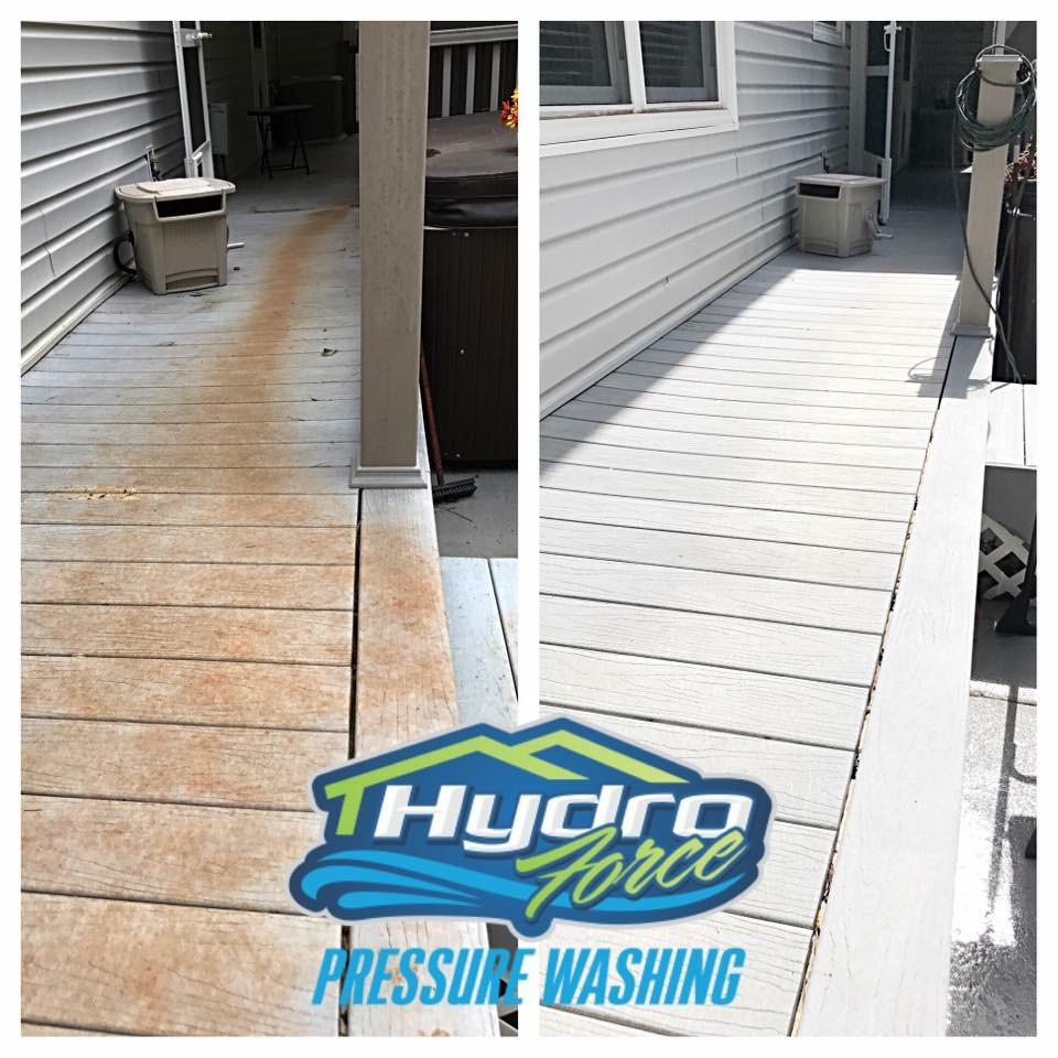 deck cleaning in cartersville ga