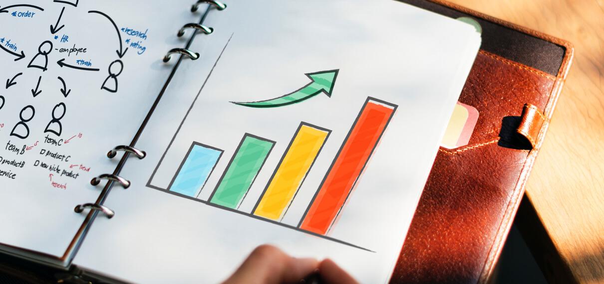Online-Marketing Grafik