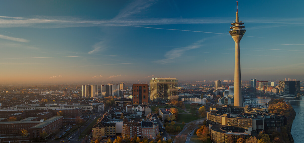 Skyline Duesseldorf
