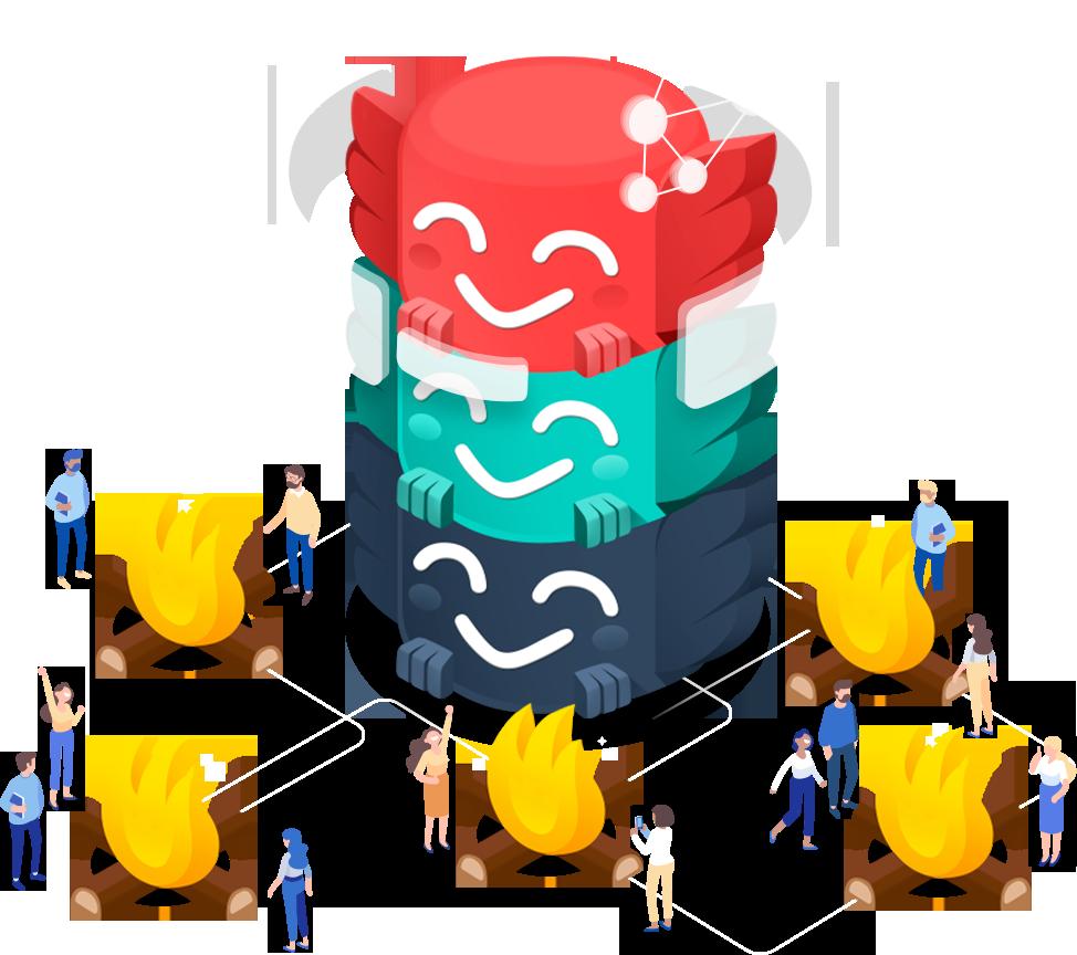 Chimu community illustration