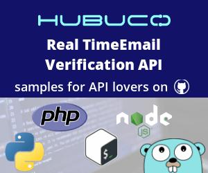 Email Verification API codes on GitHub