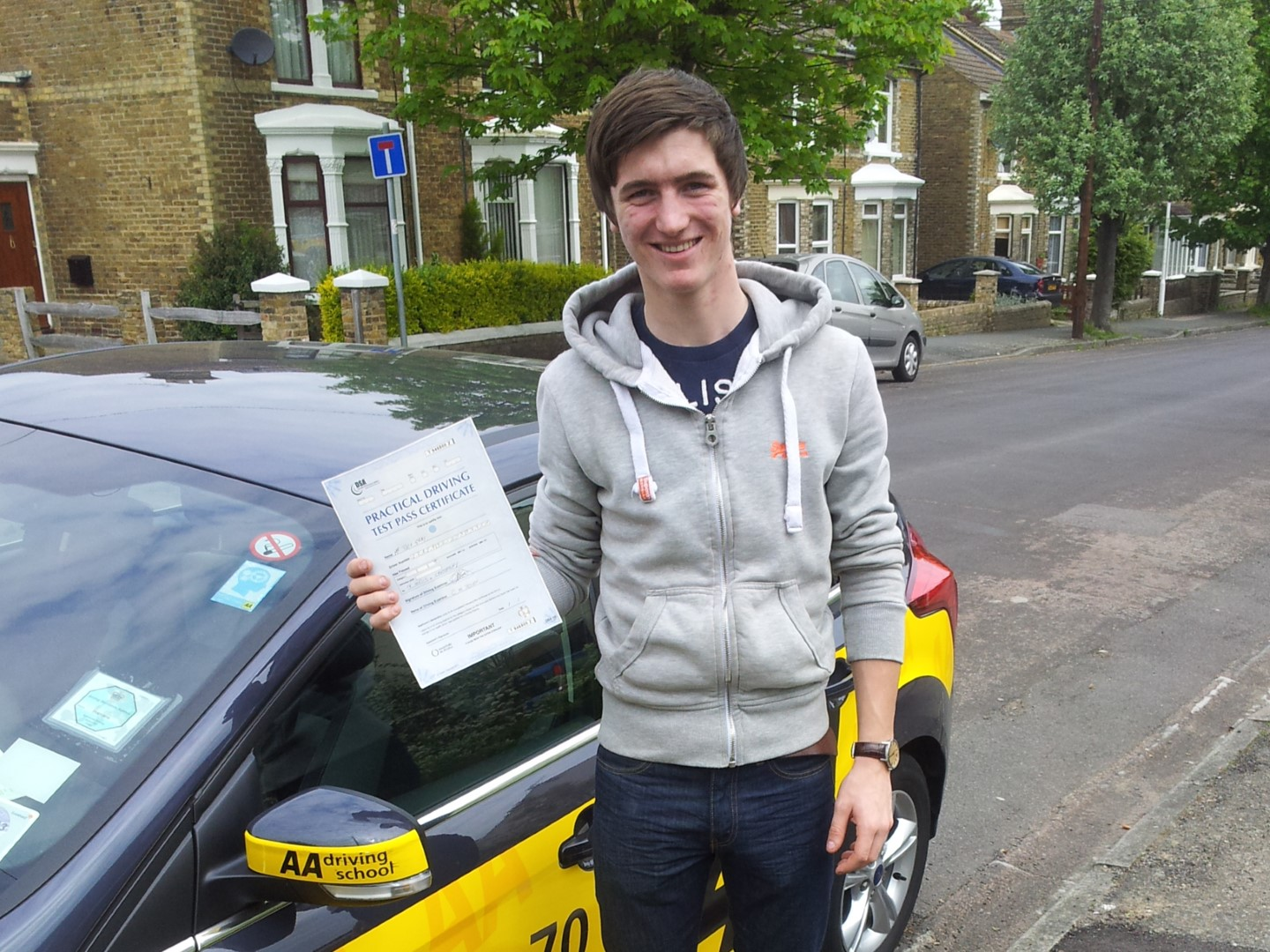 Hi nick, just want to say thank you for helping me pass my driving test, not only are you a brilliant and patient instructor your also fun to be with making the lessons I had with you very enjoyable thank you for everything mate take care .