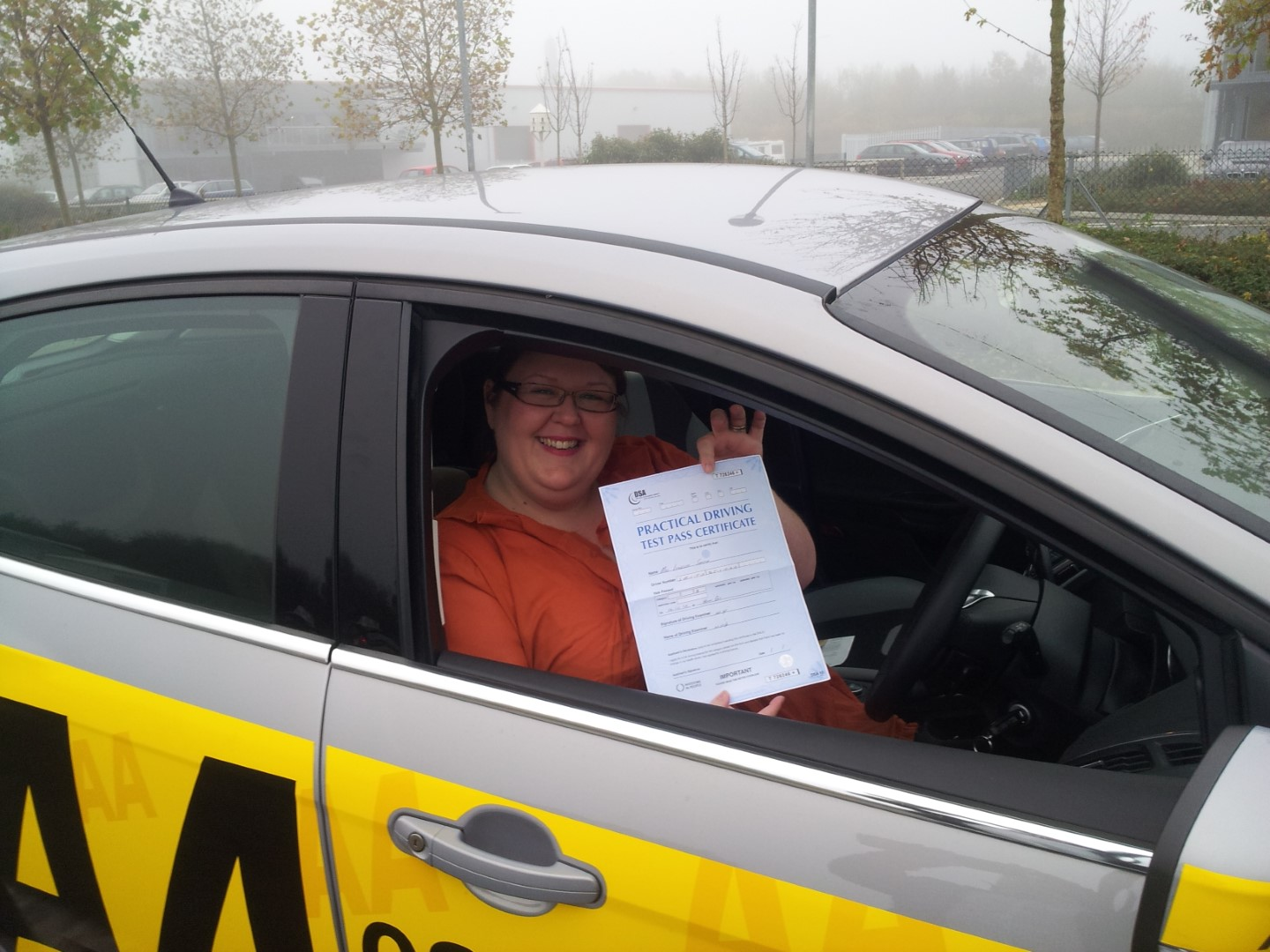 Thanks @ADI_Nick all your patience and help for getting this nervous Nerris through her driving test 2nd time lucky!