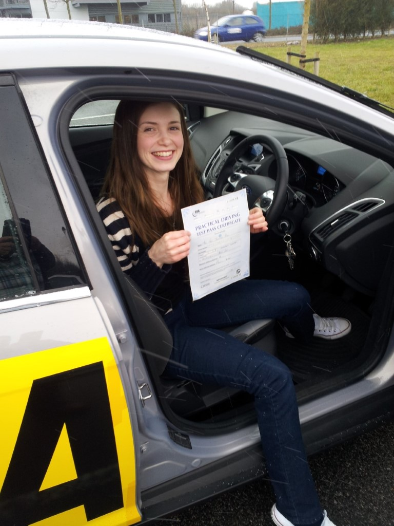 passing first time with zero faults, cant believe it, thanks