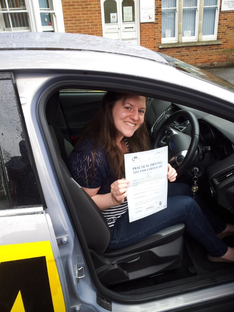 Passed in the rain, first time, thanks nick