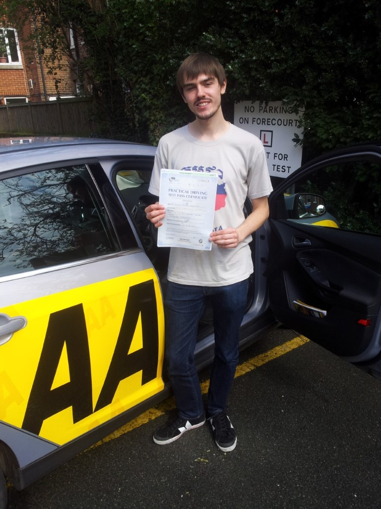 passed for first time, thanks