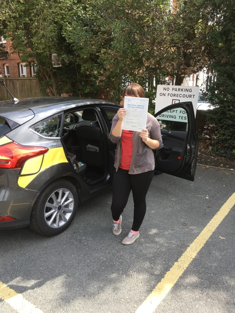 Thank you so much, you are a miracle worker, I was so nervous at the start and now I have passed first time!