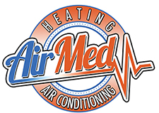AirMed Heating & Air Conditioning Logo