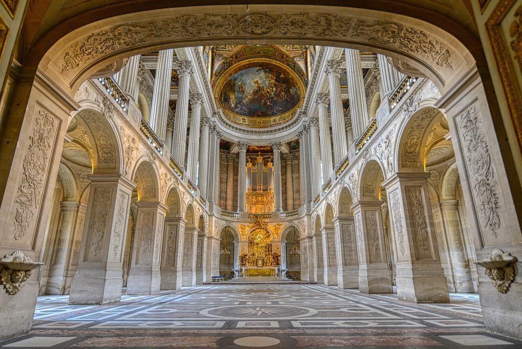 The Royal Chapel, Château de Versailles, France : ArchitecturalRevival