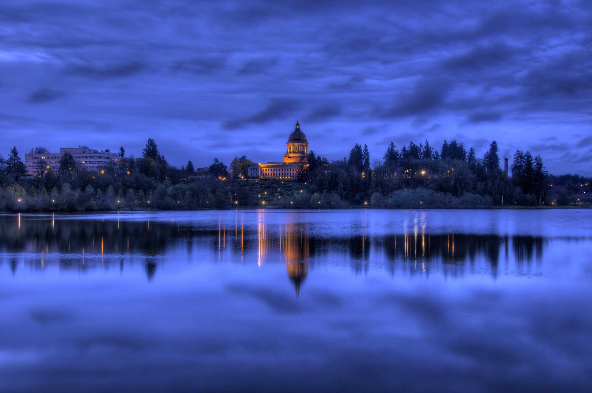 Capitol Lake Photo by Bruce Ikenberry Photography