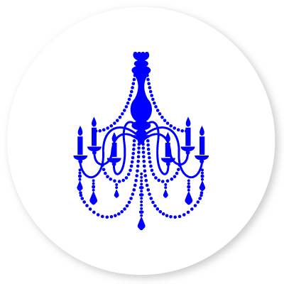 Chandelier cleaning icon