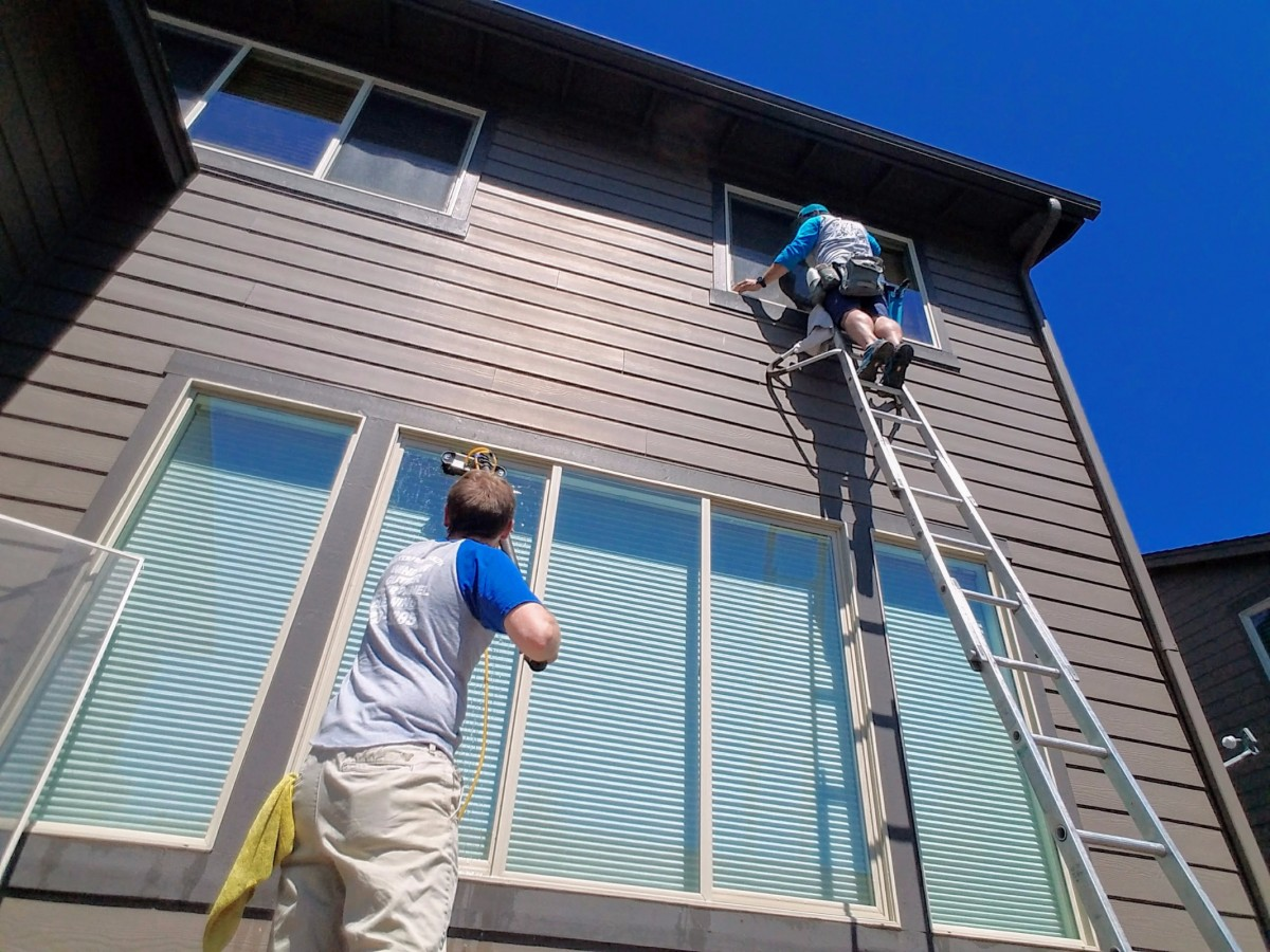 Window Cleaning in Bend, Oregon