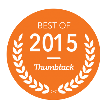 MasterPro Service was awarded the best of 2015 for earning great customer reviews on Thumbtack