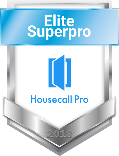 MasterPro Service was awarded Housecall Pro Superpro in 2018