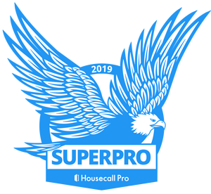 MasterPro Service was awarded Housecall Pro Superpro in 2019