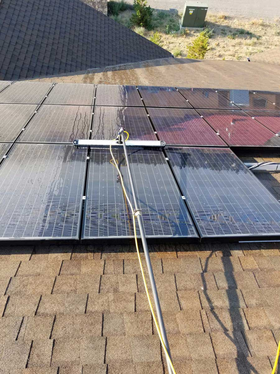 solar panel cleaning company in bend or