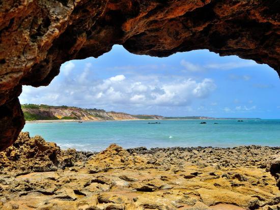 buraco na preta da praia do amor na paraíba
