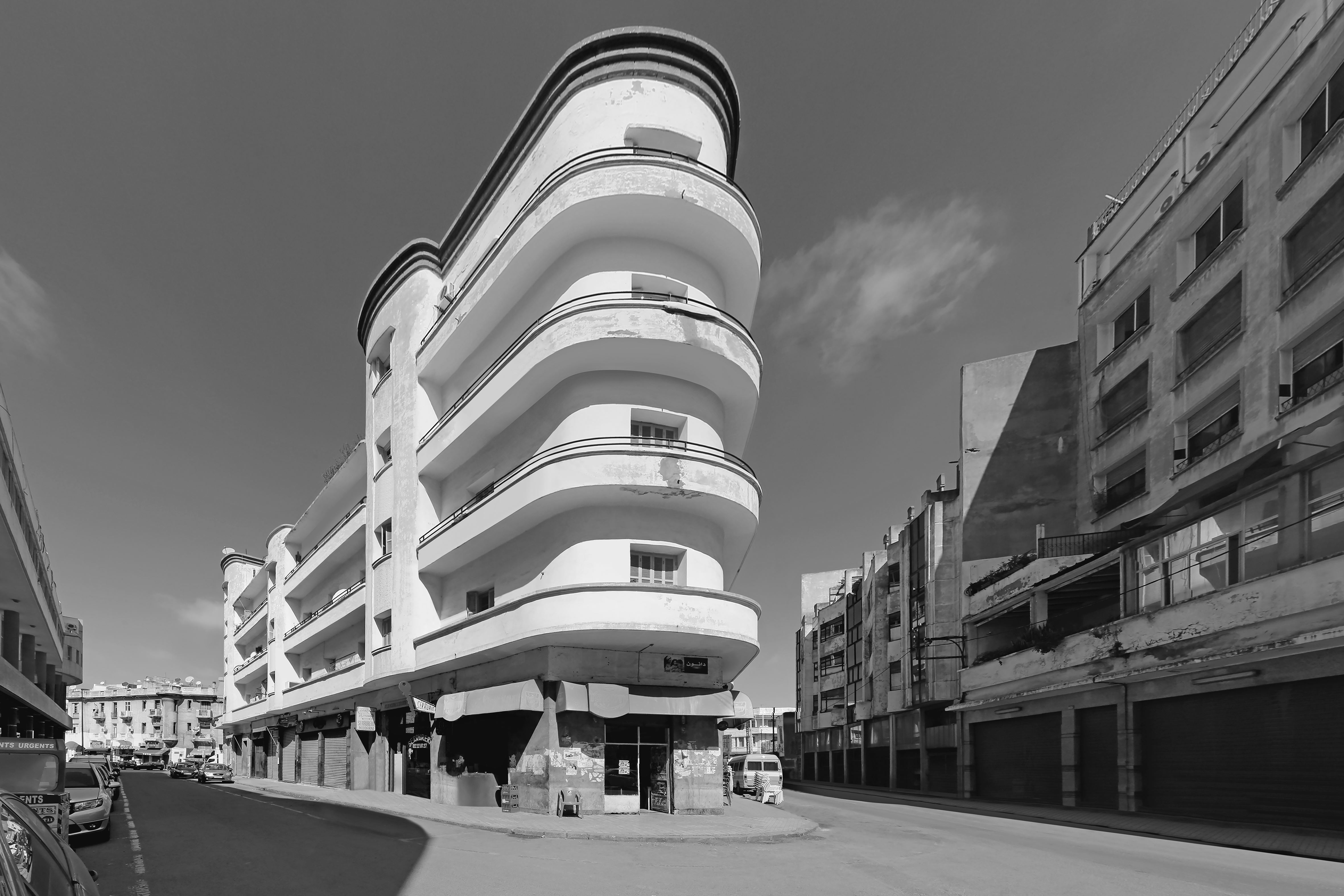 Wohnhaus Salomon Benalal, © Jean Molitor, Marokko, Casablanca, 1931, Joseph und Elias Suraqui