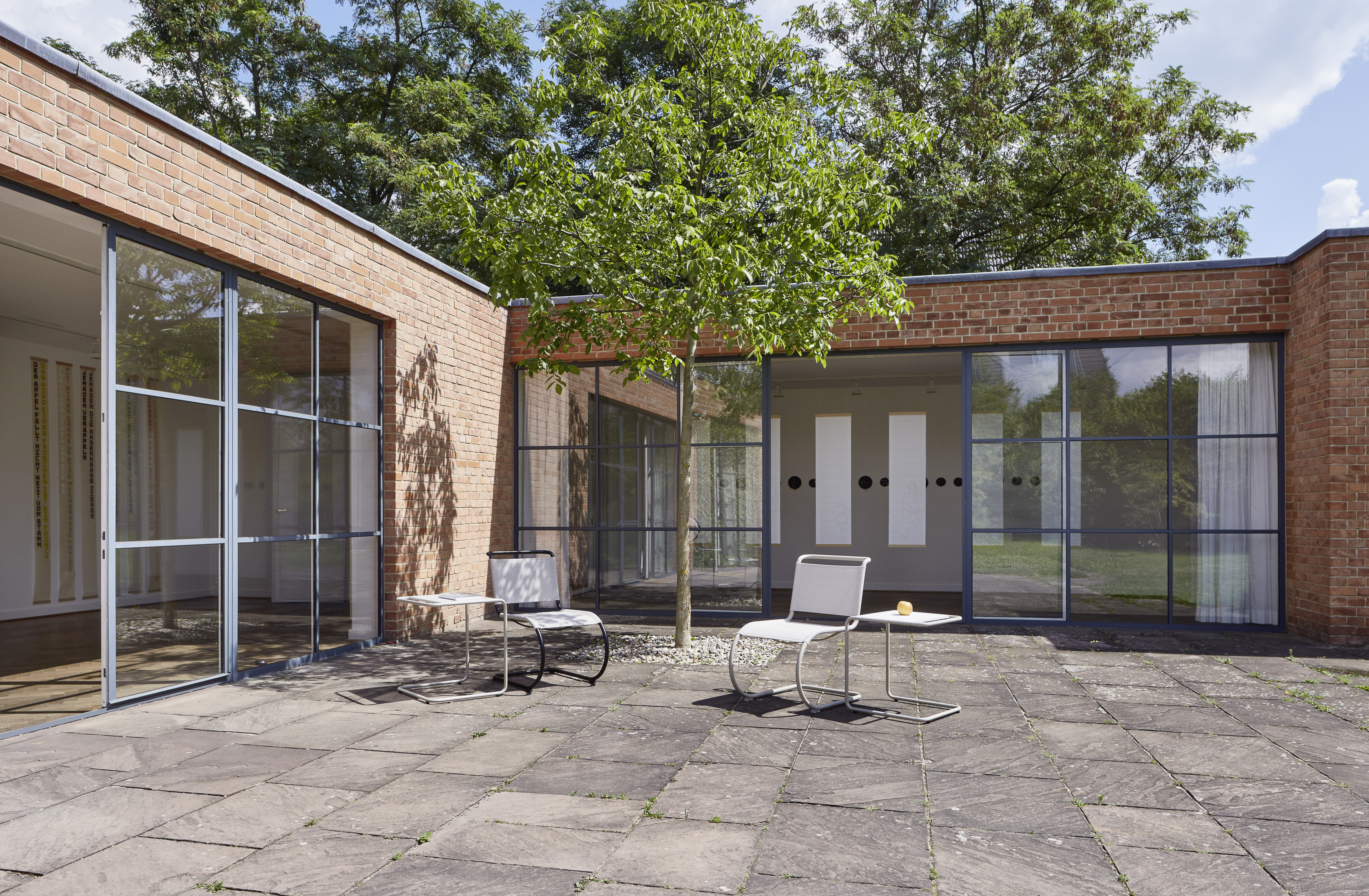 Mies van der Rohe Haus. Foto: Achim Hatzius 2019, Mies van der Rohe Haus