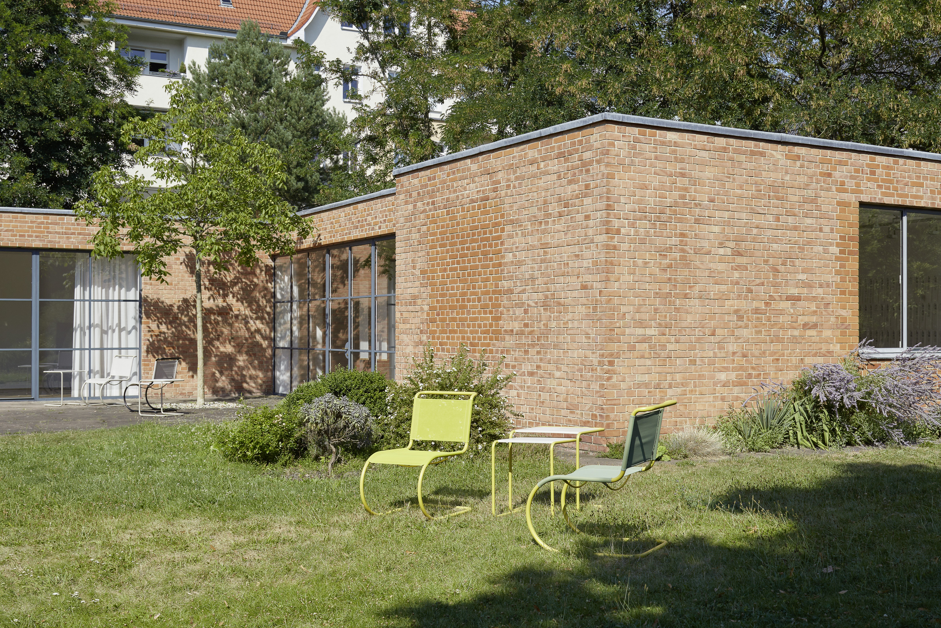 Mies van der Rohe Haus, Foto: Achim Hatzius 2019, Mies van der Rohe Haus