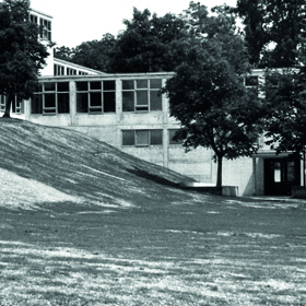 HfG Ulm (Hochschule für Gestaltung), Foto: Ernst Hahn, 1955, © HfG-Archiv Ulm